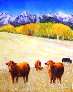 Elk Meadows Series 3  12X16