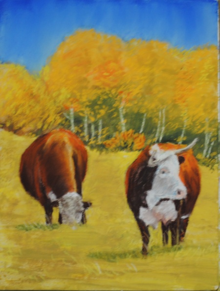 Elk Meadows Series 4  9X12