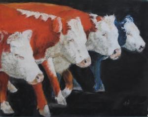 Cattle drive I 20X16 03 01 2012