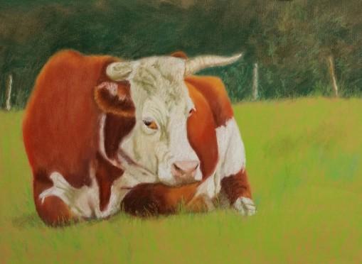 Potter Cow 2015 19x27